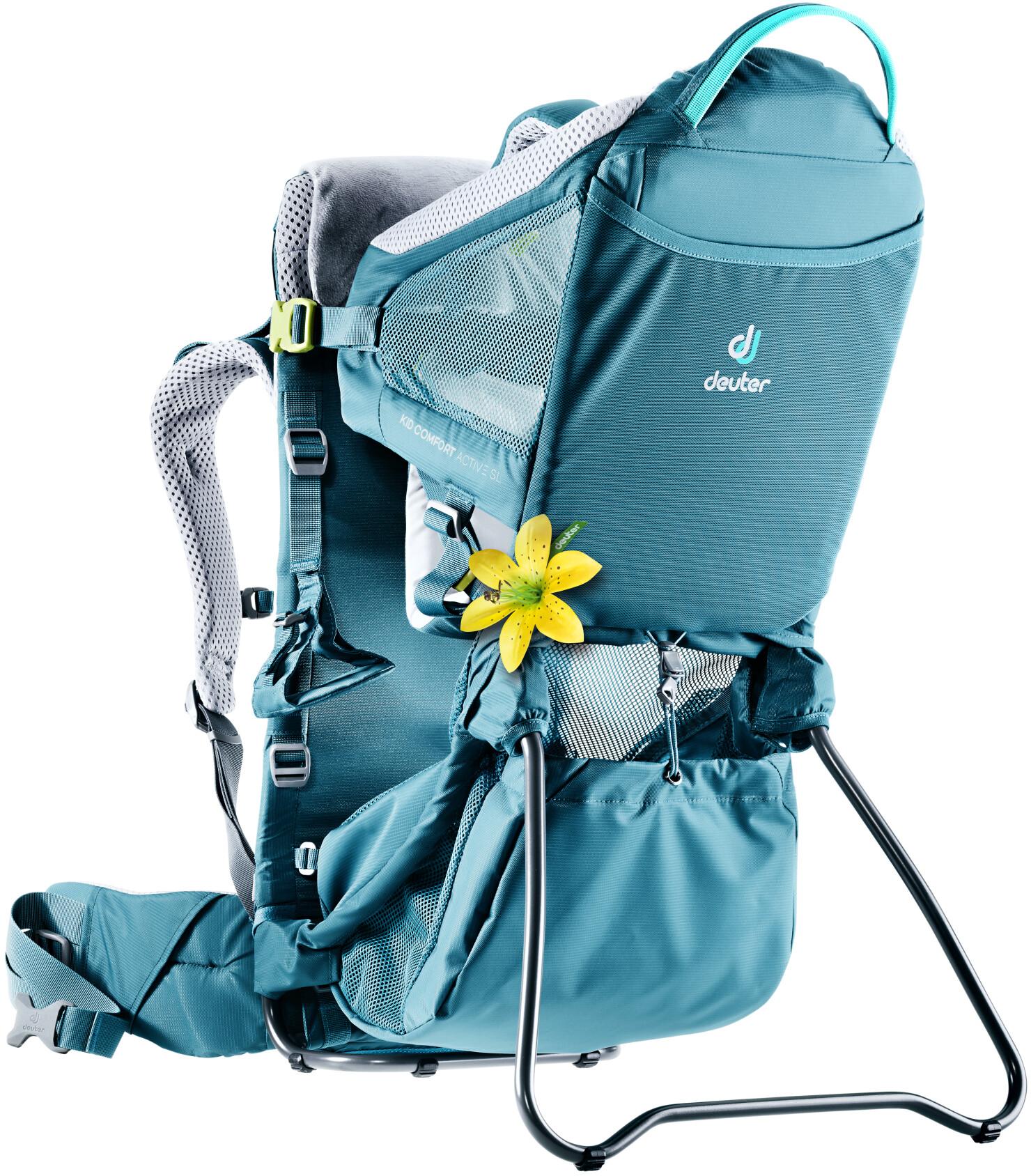 cc2f3d1600c Deuter Kid Comfort Active SL kinderdrager turquoise l Online outdoor ...